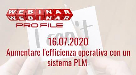 Webinar Aumentare efficienza operativa con PLM