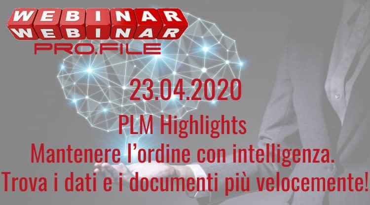 Webinar PLM Highlights