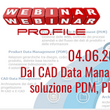 Webinar PDM, PLM DMStec