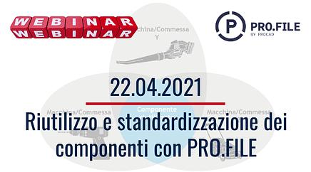 Riutilizzo e standardizzazione dei componenti
