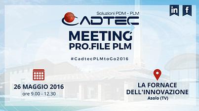 CADTEC - meeting PRO.FILE PLM