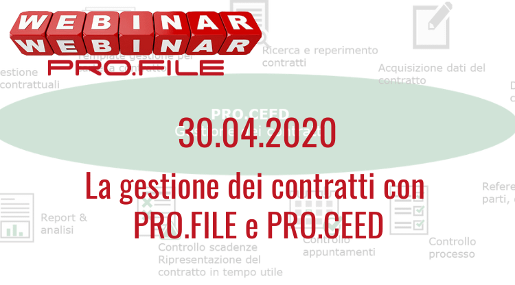 Webinar: gestione contratti