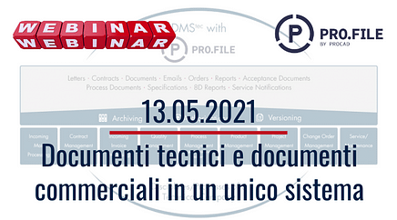 Documenti tecnici e documenti commerciali in un unico sistema