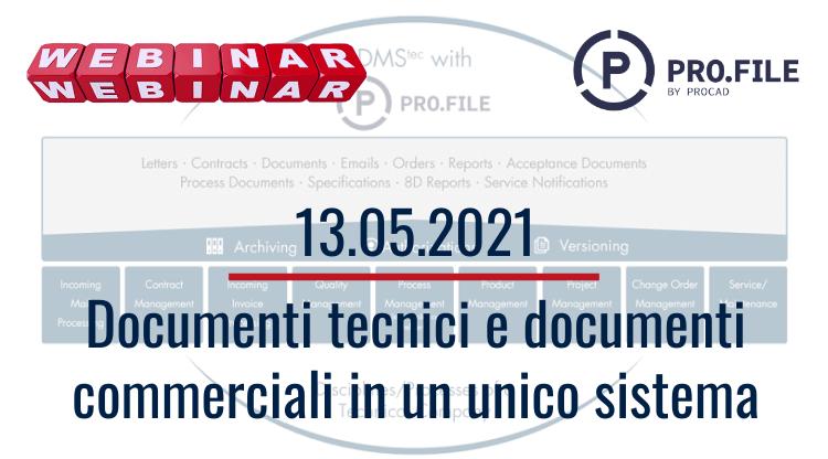 Documenti tecnici e documenti commerciali in un unico sistema