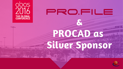 PROCAD Silver Sponsor ABAS Conference